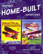 cover THE FIRST HOME-BUILT AEROPLANES by Arthur WJG Ord-Hume