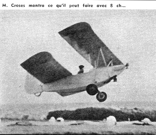 Prototype du PouPlume - Aviation Magasine sept 1961
