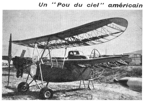 HM360 de Ralph WEFEL - Aviation Magasine janvier 1963