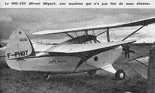 Saintes 1958 Aviation Magasine HM350